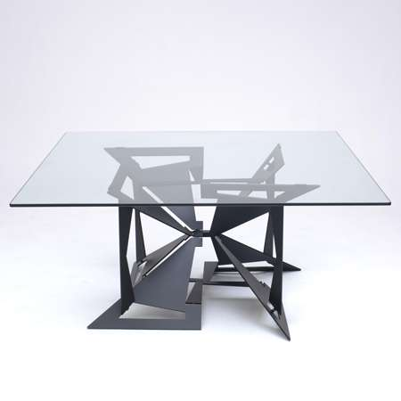 Origami tables the 4foldlow table is made of laser cut - Tables a manger design ...