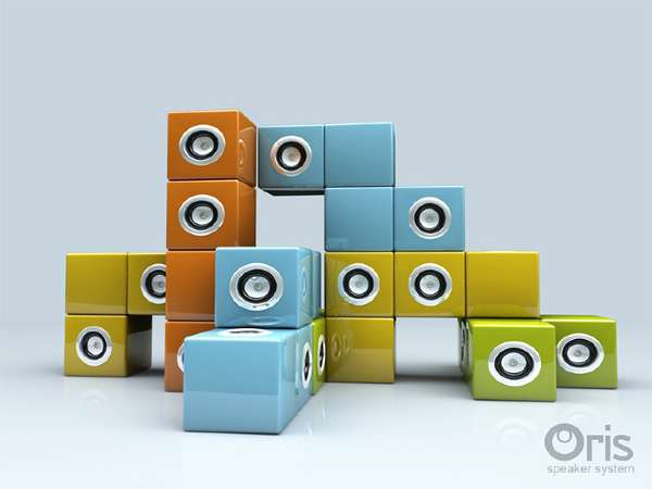 Building Block Speakers