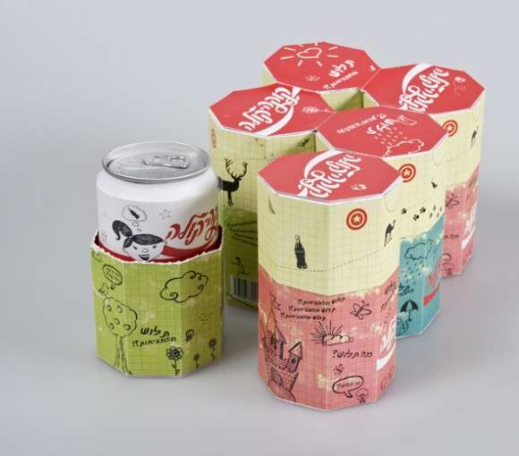 Coca Cola Packaging by Orly Peimer Rimon