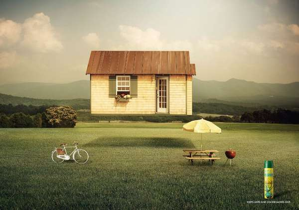 Hovering house campaigns the 39 orphea home roulotte for Ad house