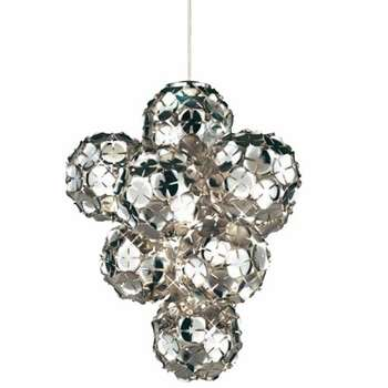Disco Ball Chandeliers