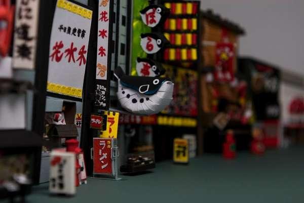 Micro City Papercraft