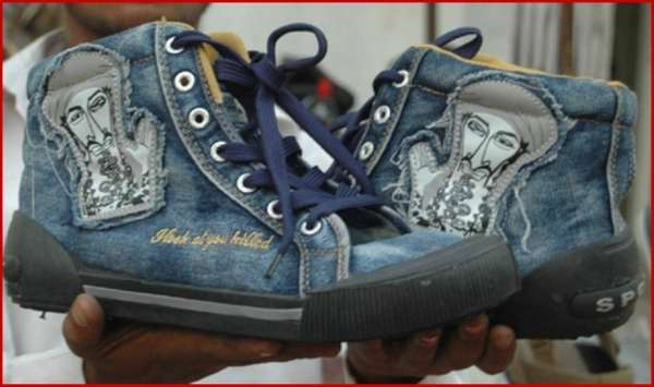 Osama Bin Laden Sneakers