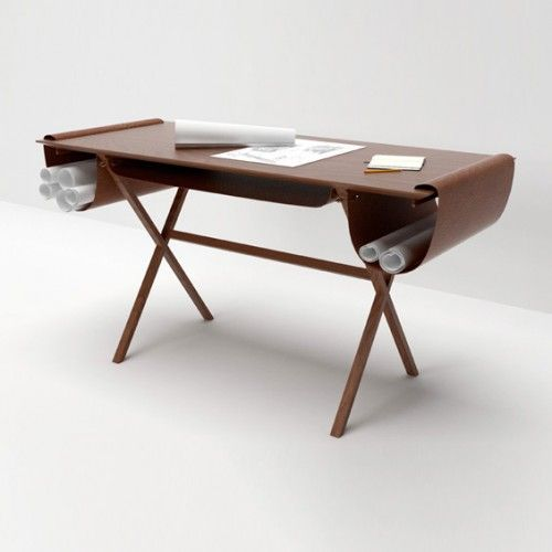 leather pocketed workstations oscar architecture desk