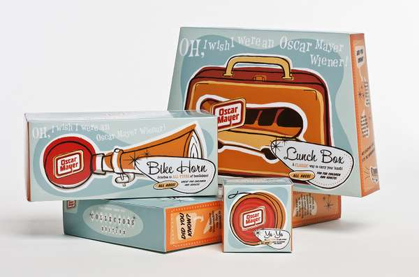 Oscar Mayer Collector-s Edition Packaging
