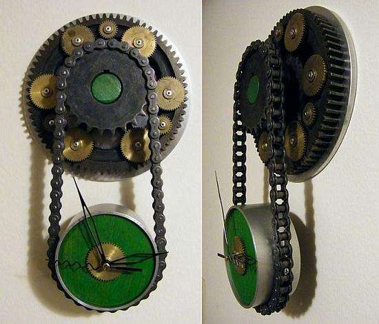 Steampunked Time-Tickers