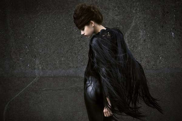 Glamorously Sombre Photography