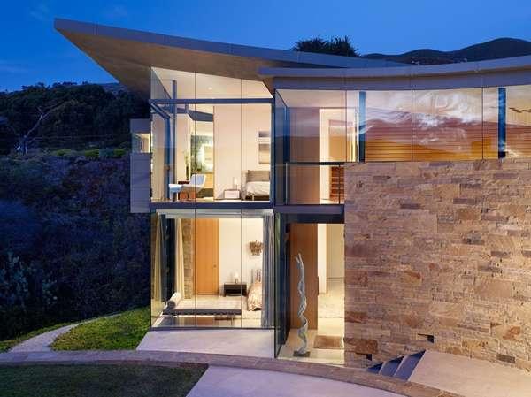 Landscape-Embedded Homes