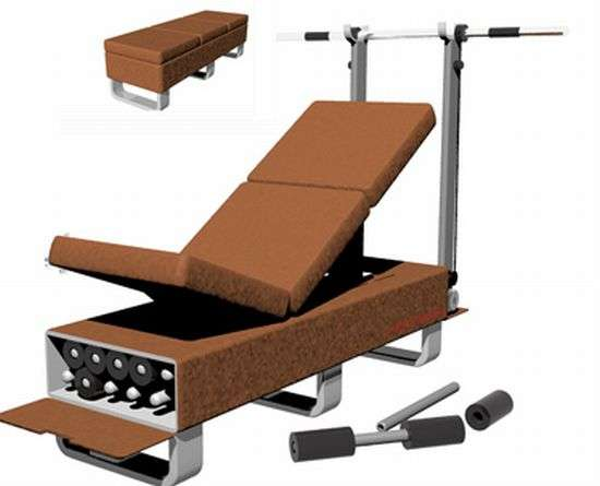 Ottoman Workout Benches