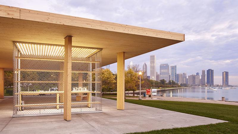 Modern Outdoor Kiosks