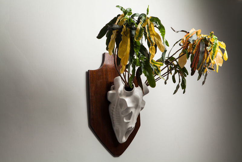 Taxidermy-Inspired Planters