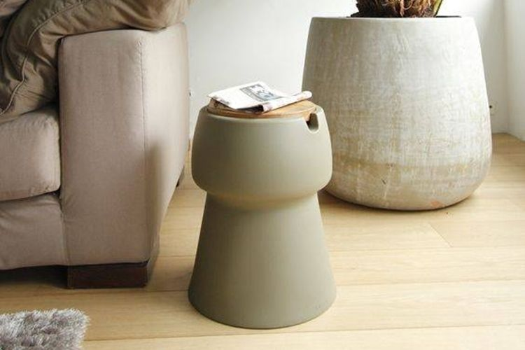 Drink-Storing Stools
