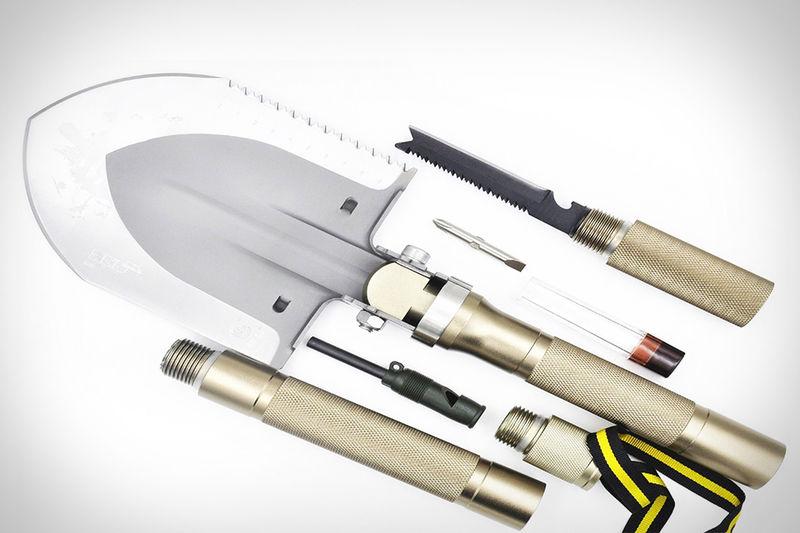 Compartmentalized Survival Shovels