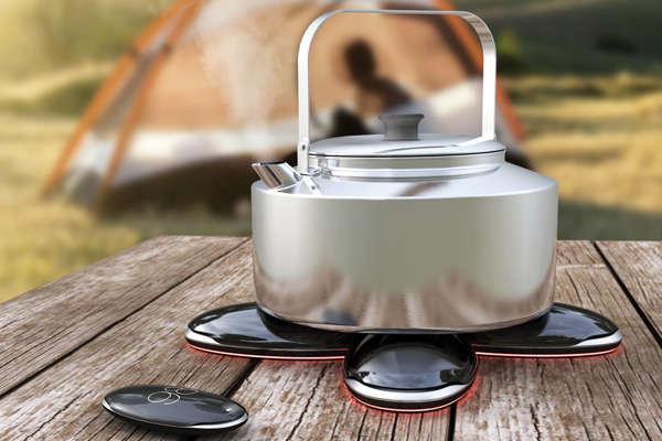 Portable Pebble Cookers