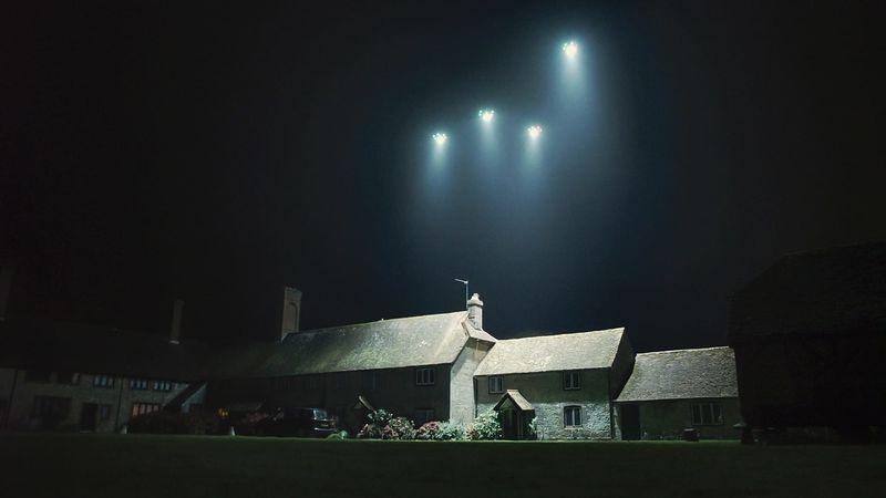 On-Demand Drone Lights