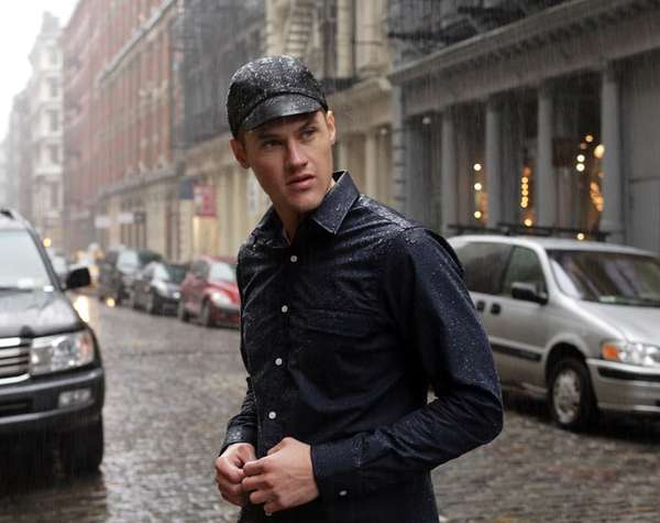 Outlier Supermarine Rain Shirt