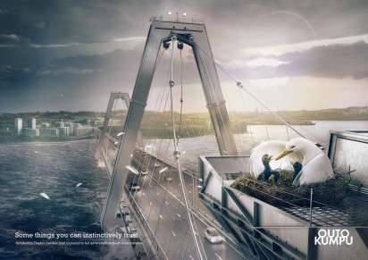 Eco-Friendly Metal Ads