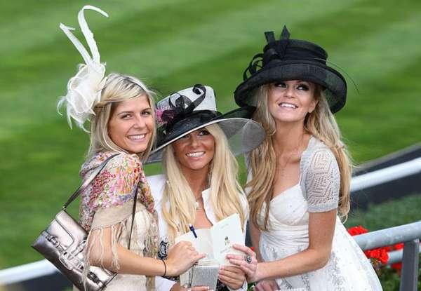 Eccentric Derby Hats
