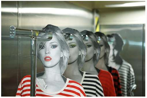 'OutsaPop Trashion' Kate Moss Hangers