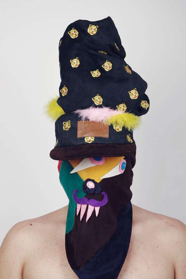 Masked Hipster Headgear