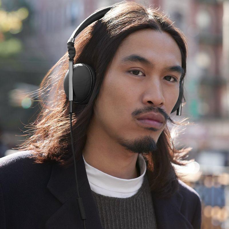 Carbon Gunmetal Headphones