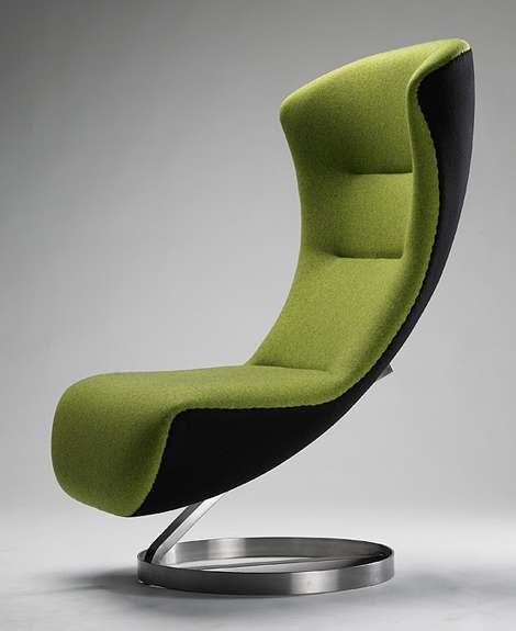 Oversized Lounge Chair by Nico Klaeber