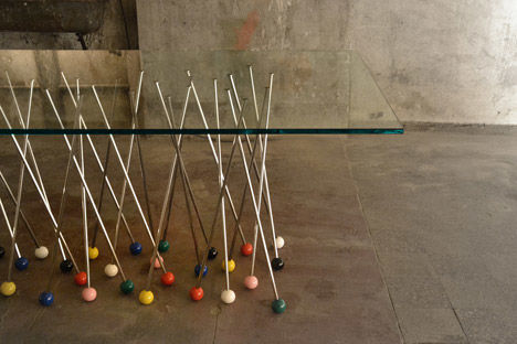 Pushpin-Inspired Furniture