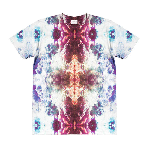 Kaleidoscopic T-Shirt Couture