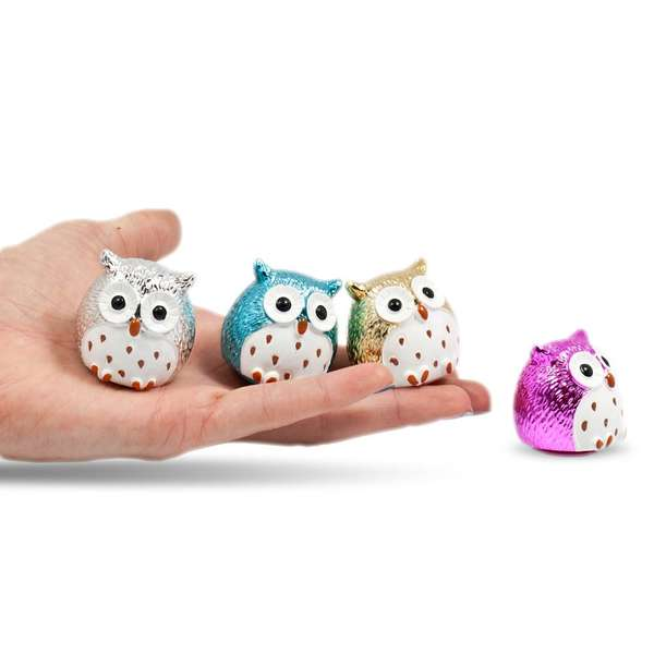 Owl-Shaped Lip Balms