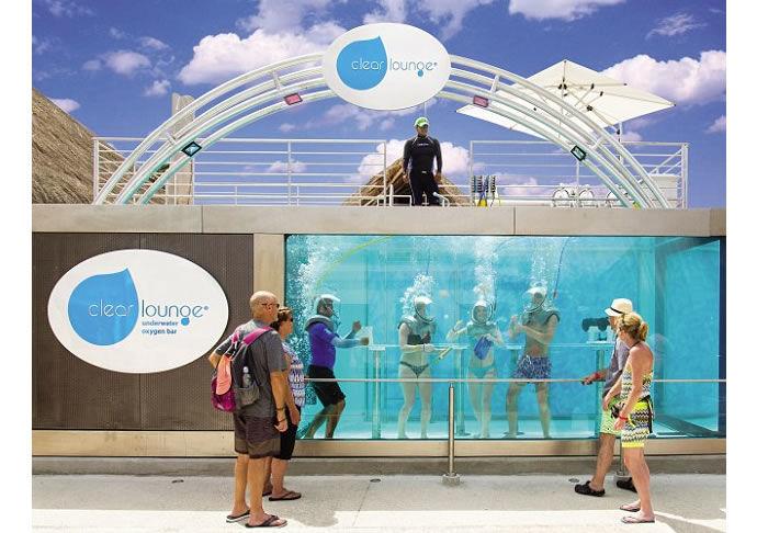 Underwater Oxygen Bars