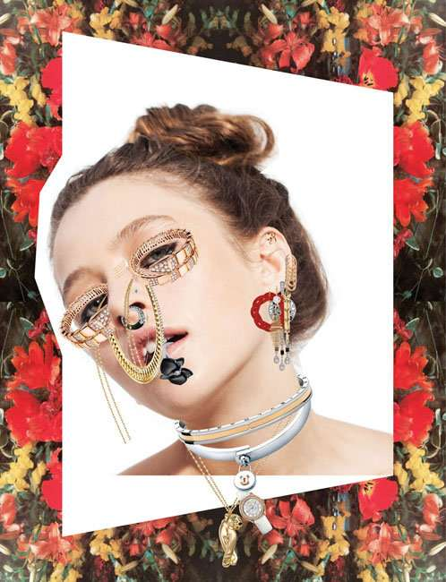 Eccentric Collage Editorials