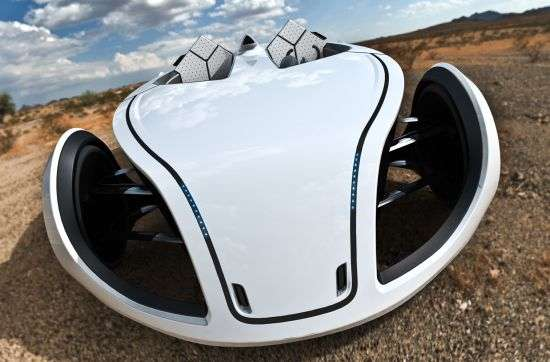 Futuristic Open-Air Cars
