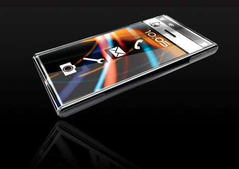Wrap-Around LED Touch Screen