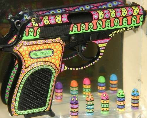 Pretty Painted Pistols