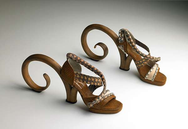 Furniture-Inspired Footwear