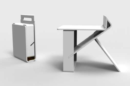 Package Seat by Adrian Candela