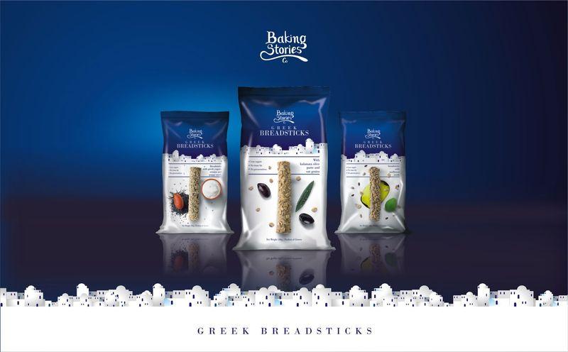 Mediterranean Packaged Bread Sticks