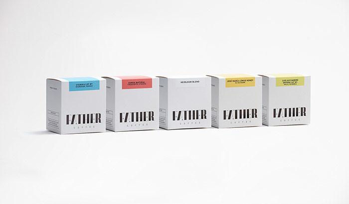 Upscale Packaged Coffee Branding
