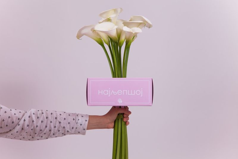 Personalized Flower Packaging