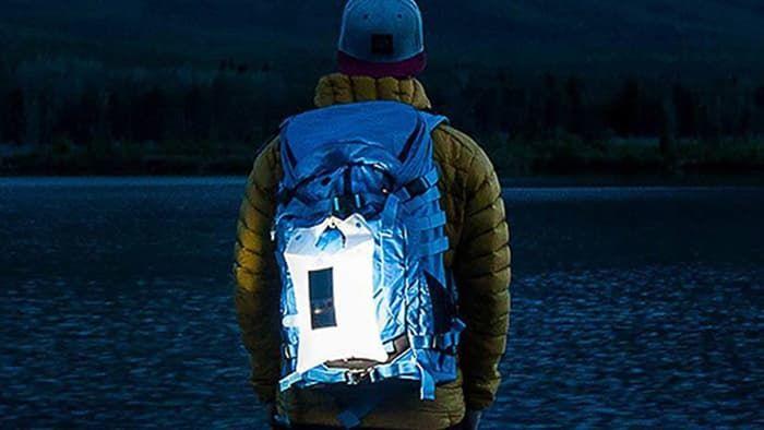 Illuminated Outdoor Backpacks