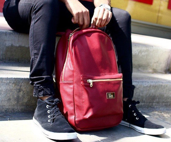 Vegan Leather Knapsacks