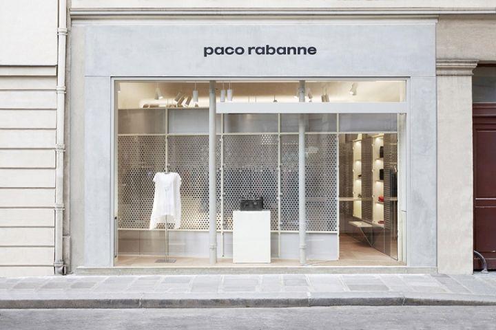 Futuristic Whiteout Boutiques