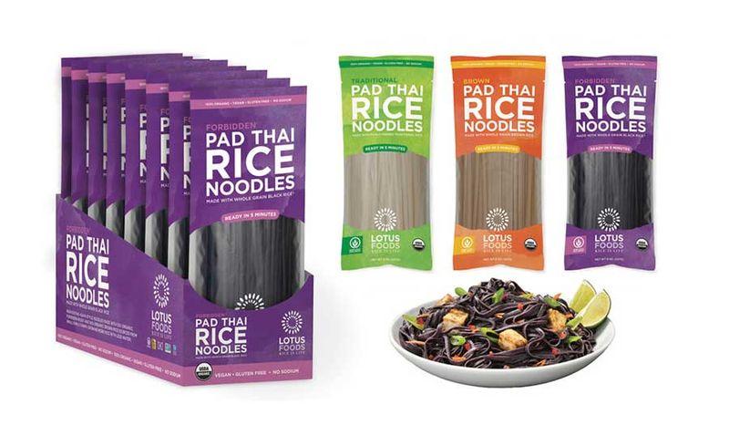 Lotus Foods Organic Pad Thai Brown Rice Noodles