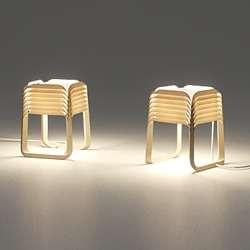 Luminously Layered Lamps