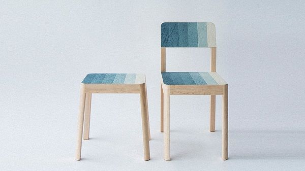 Paint Swatch Chairs