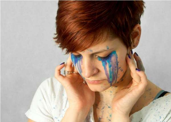 Tearful Face Paintings
