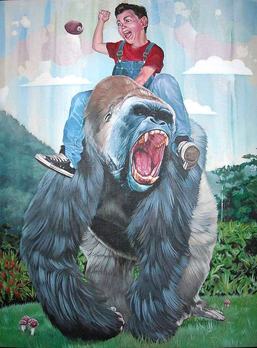 Gorilla Riding