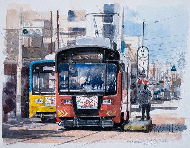 Urban Watercolor Portraits