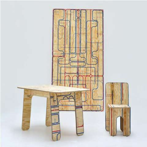 Puzzle Piece Furniture Sets