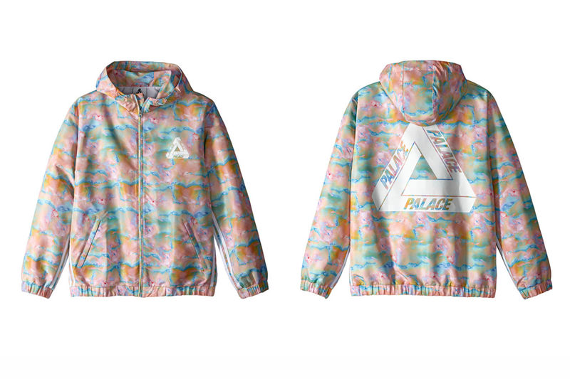 Colorfully Marbled Clothing